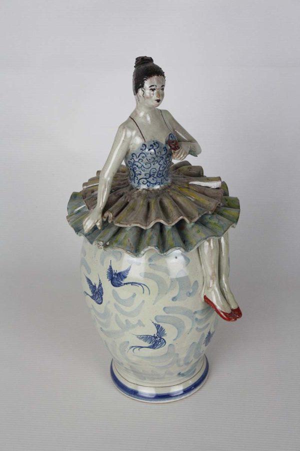 Ceramica ballerina fischiante