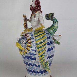 Ceramica fischiante Nettuno